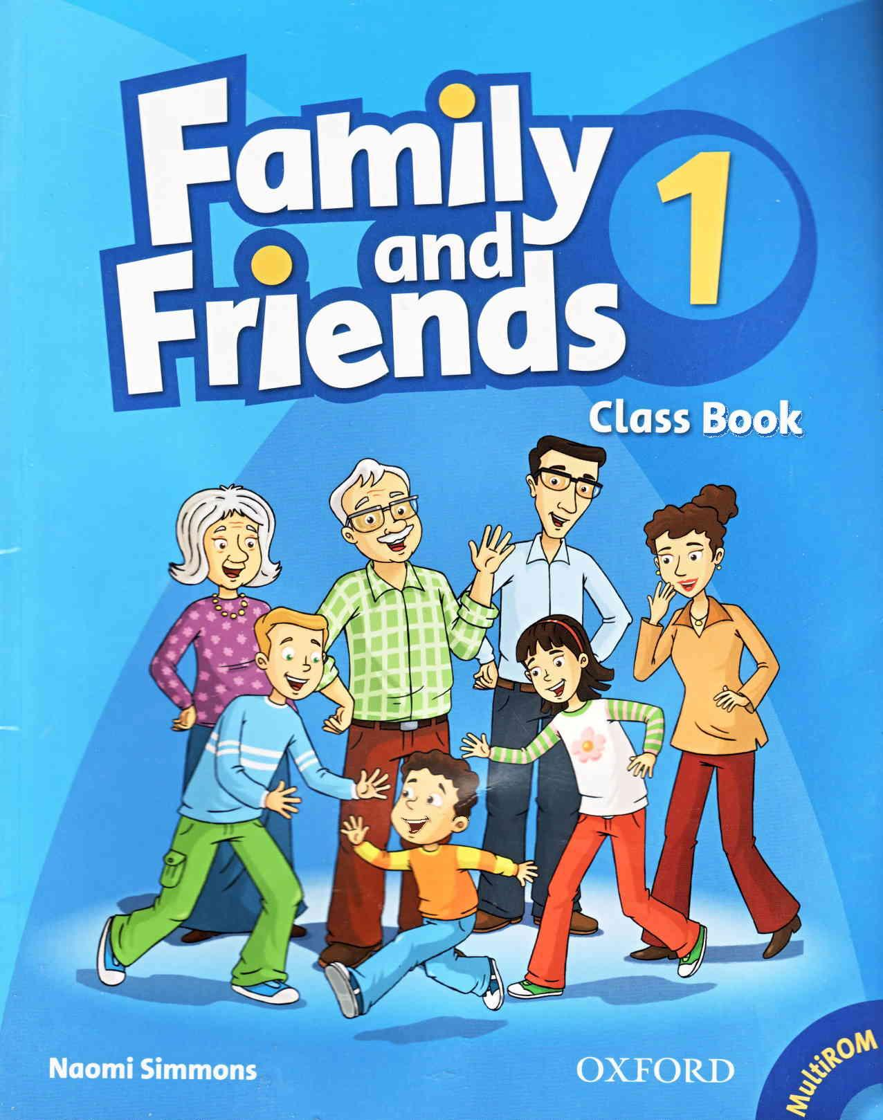 Family and friends 1 - classbook