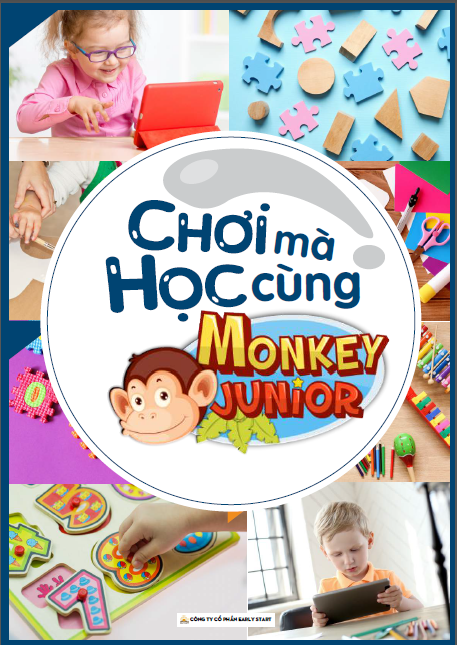ebook choi ma hoc cung Monkey Junior