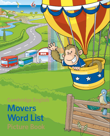 Movers Word List